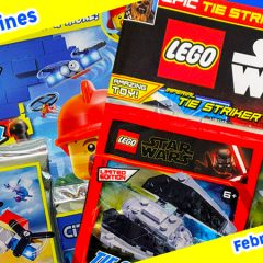 LEGO Magazines February Round-up Part 2