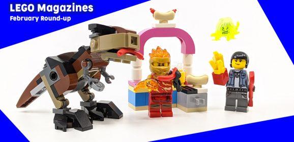 LEGO Magazines February Round-up