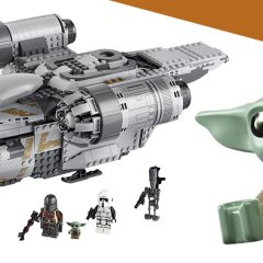 LEGO The Mandalorian Razor Crest In Detail