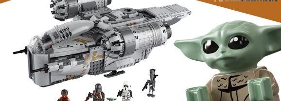 LEGO Mandalorian Razor Crest Back In Stock