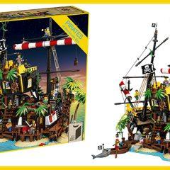 Introducing LEGO Ideas Pirates Of Barracuda Bay Set