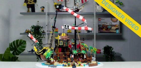 LEGO Ideas Pirates OF Barracuda Bay Designer Video
