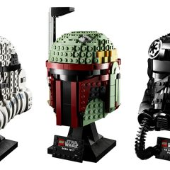Introducing The LEGO Star Wars Helmet Collection