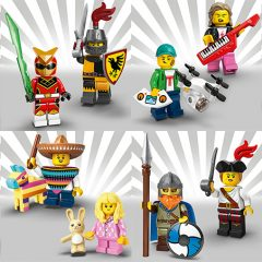 LEGO Minifigures Series 20 Overview Video