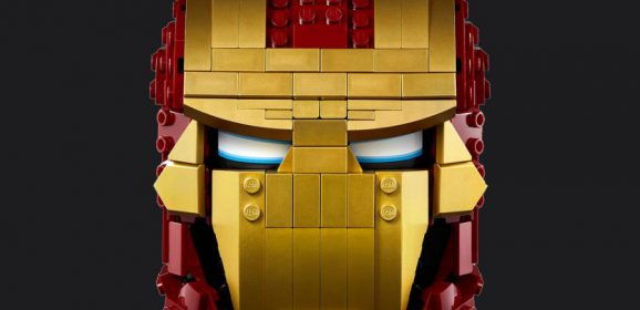 LEGO Iron Man Helmet Gets A Release Date