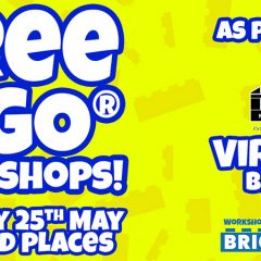 Free Virtual LEGO Workshop Taking Place Today