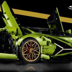 Introducing The LEGO Technic Lamborghini Sián FKP 37