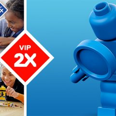 Double VIP Points On Selected LEGO Sets This May