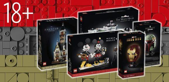 All The Adult-focused LEGO Set So Far