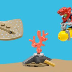 30370: LEGO City Ocean Diver Polybag Review