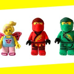 New LEGO Plushies Available From LEGOLAND Online
