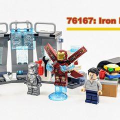 76167: Iron Man Armory Set Review