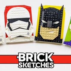 LEGO Brick Sketches Set Review
