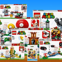 New LEGO Super Mario Sets Now Available