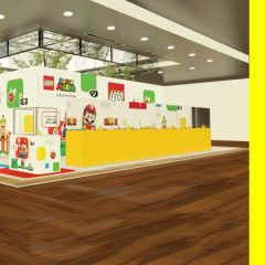 LEGO Super Mario Pop-up Stores Arrive In Japan