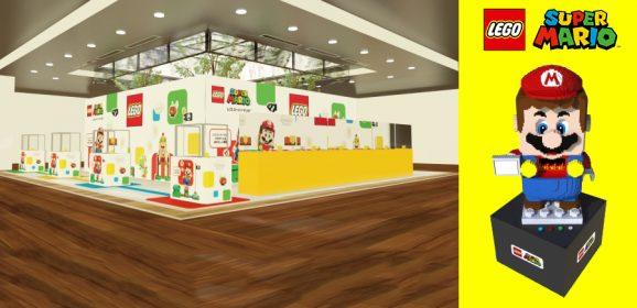 LEGO Super Mario Pop-up Stores Arrive In Japan