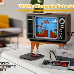 71374: Nintendo Entertainment System LEGO Set Review
