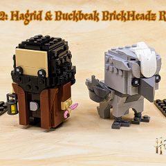 40412: Hagrid & Buckbeak BrickHeadz Set Review