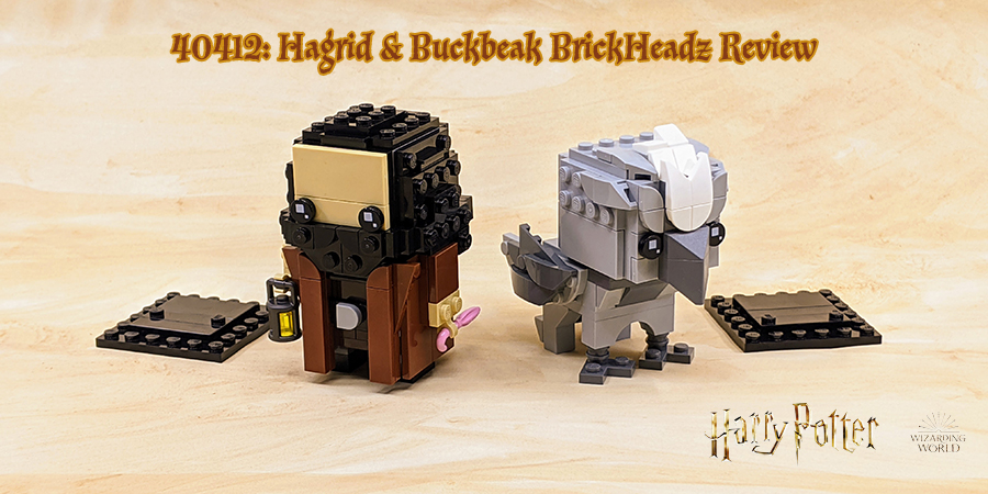 SEALED Buckbeak LEGO® BrickHeadz 40412 Hagrid und Seidenschnabel NEW