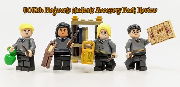 LEGO Harry Potter Hogwarts Students Minifigures Review