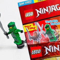 New LEGO Giant Series Mag With Polybag Out Now