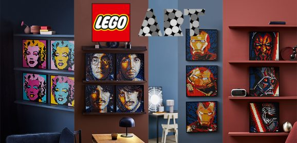 LEGO ART Sets Review Round-up