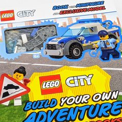 LEGO City Build Your Own Adventure Book Review