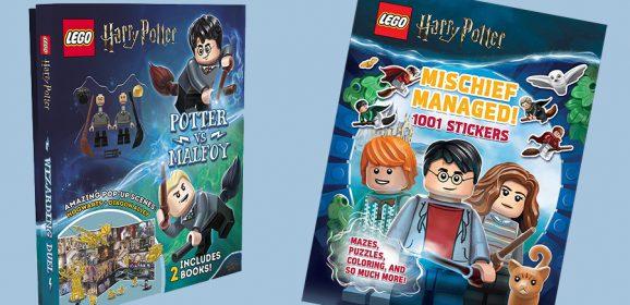 New LEGO Harry Potter Books Revealed