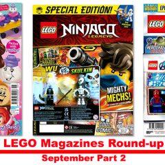 LEGO Magazines September Round-up Part 2