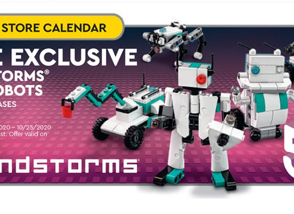 LEGO Mindstorms Robot Inventor GWP Revealed