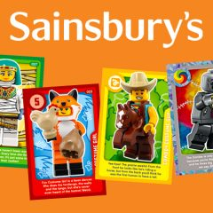 Sainsbury's Confirm Return Of LEGO Trading Cards