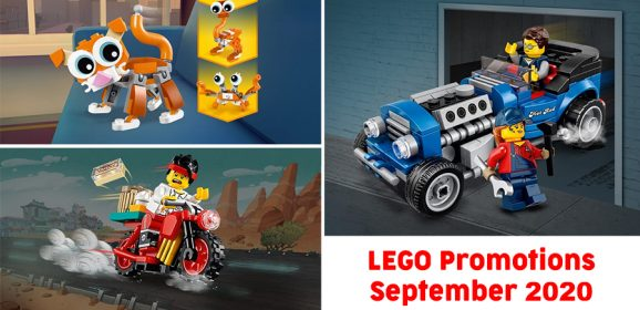 New LEGO Promotions Global Round-up