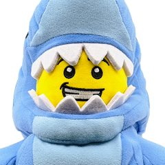 LEGO Shark Suit Guy Minifigure Plush Toy Review
