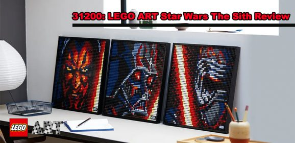 31200: Star Wars The Sith LEGO ART Review