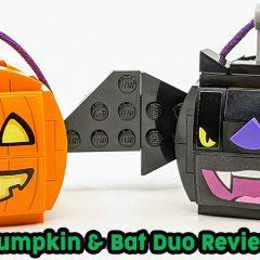 854049: Pumpkin & Bat Duo Set Review