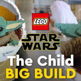 LEGO Big Builds: The Child From The Mandalorian