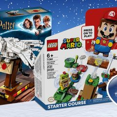 LEGO Wins DreamToys Double With Mario & Harry Potter