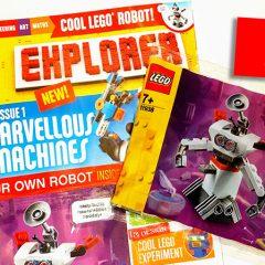 New LEGO Explorer Magazine & Polybag Review