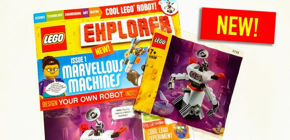 New LEGO Explorer Magazine & Polybag Review