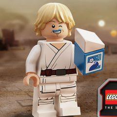 Better Look At Blue Milk Luke Skywalker Minifigure