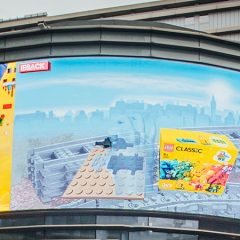Interactive LEGO Billboard Launched In London