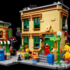 Introducing 21324: LEGO Ideas 123 Sesame Street