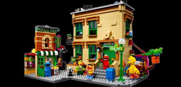 Introducing 21324: LEGO Ideas 123 Sesame Street