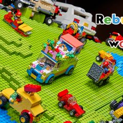 Lockdown LEGO Creations Added To Epic LEGO Globe