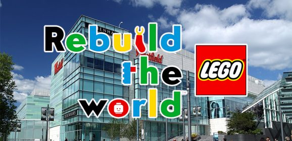 Interactive LEGO Billboard Being Unveiled Tomorrow