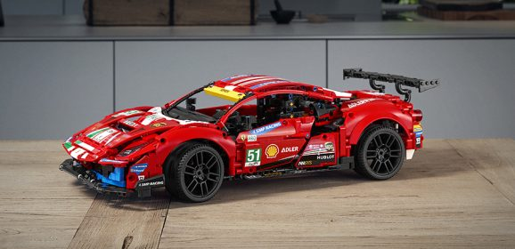 Introducing The LEGO Technic Ferrari 488 GTE