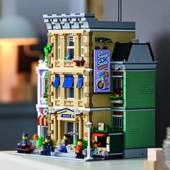 By The Brick: LEGO Modular Police Station