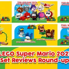 LEGO Super Mario 2021 Set Reviews Round-up