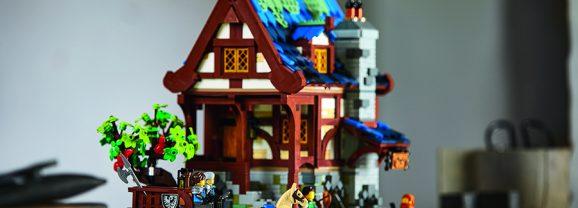 LEGO Ideas Medieval Blacksmith Designer Video