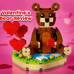 40462: Valentine's Brown Bear Set Review